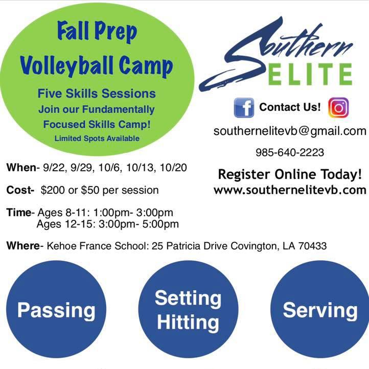 Fall Skills Camp
