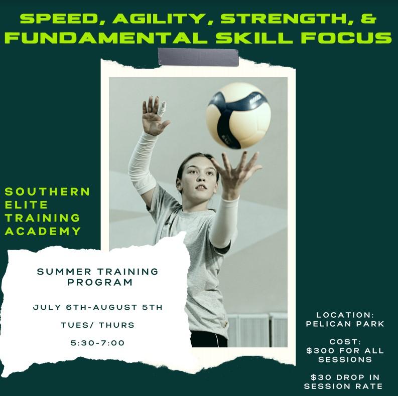2021 Summer Training Program Flyer