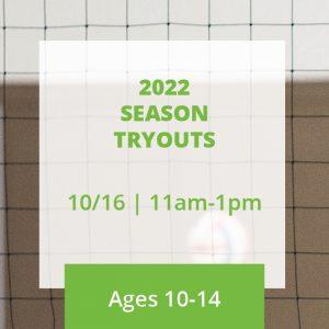 2022 Season Tryouts